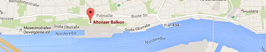 Lage Altona Balkon