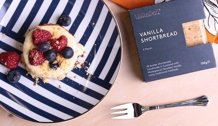 Fruchtige Vanille-Törtchen