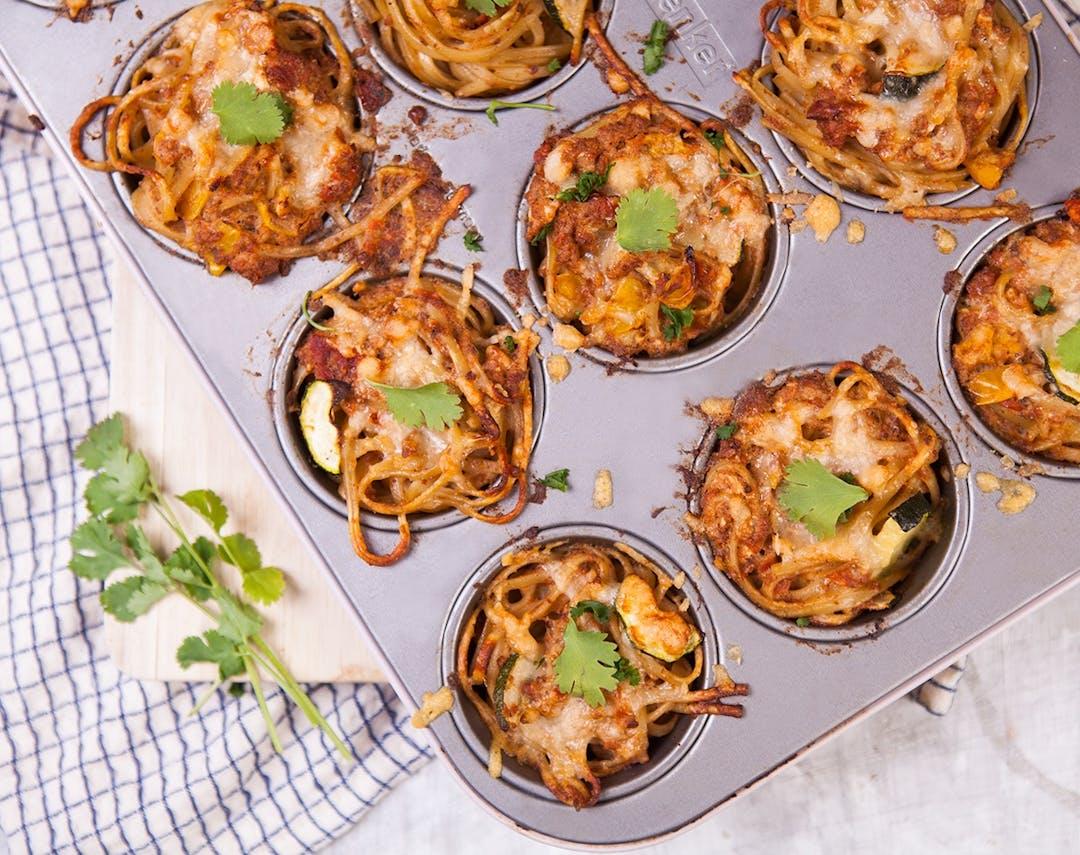 Rezept: Spaghetti-Nester mit Pesto - Foodist Magazin